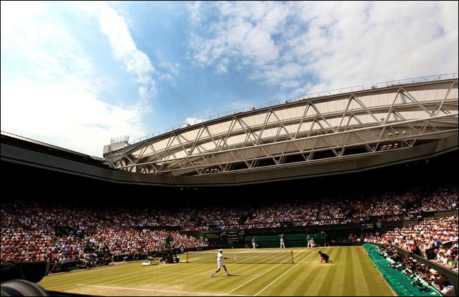 Центральный корт Всеанглийского лаун-тенниса и крокета. Финал