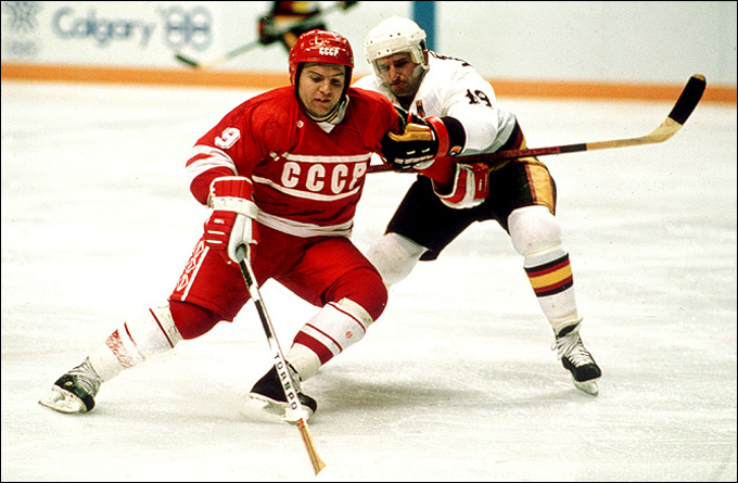 Владимир Крутов на Олимпиаде-1988