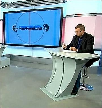 Ведущий Сергей Крабу: ну такой серьёзный…