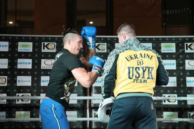Александр Усик — один из самых техничных украинских боксёров