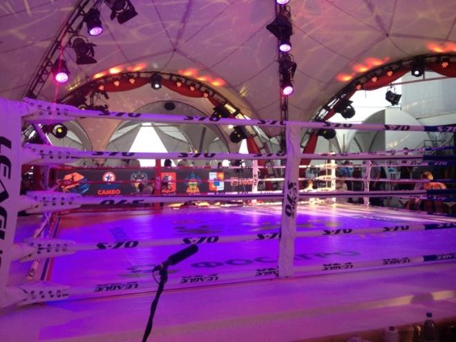 Ринг Плотформы готов принять участников первых боёв