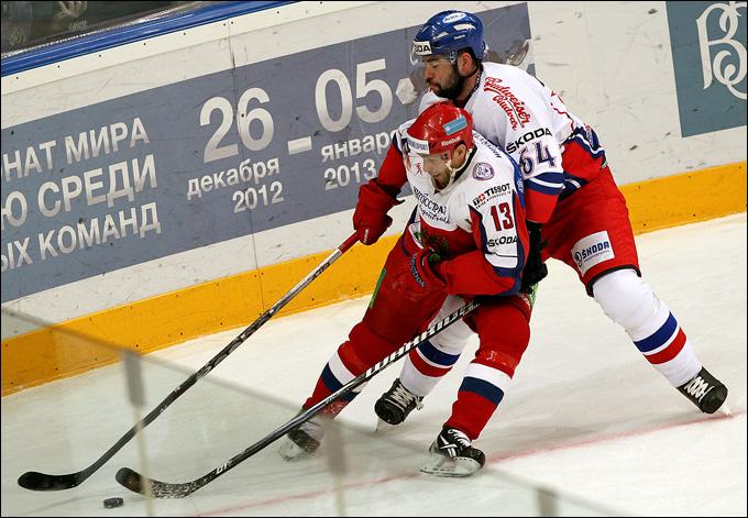Павел Дацюк против сборной Чехии