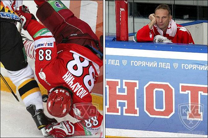 30.10.2010. КХЛ. Спартак - Северсталь - 3:1. Фото 01.