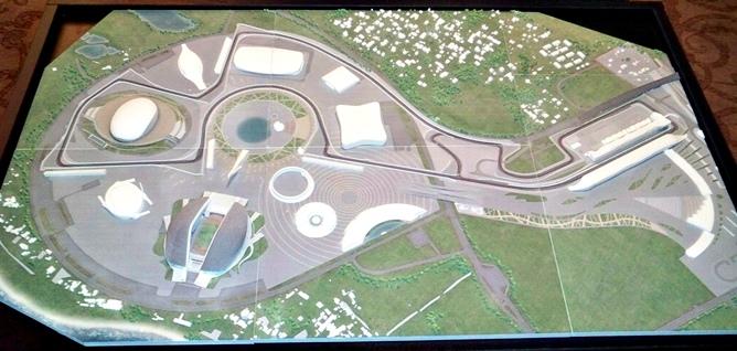 Проект автодрома Формулы-1 в Сочи