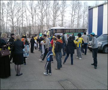 Карагандинские болельщики добрались до Нефтекамска
