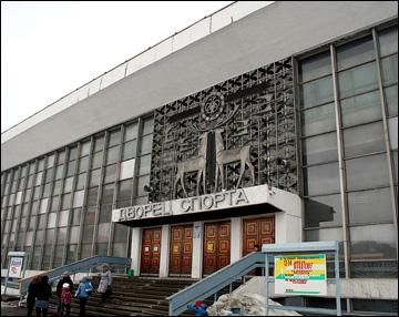 Ледовый дворец в Оленегорске