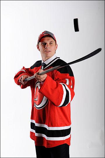 Артур Гаврус после драфта НХЛ-2012