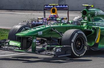 Авария Уэббера и ван дер Гарде на Гран-при Канады