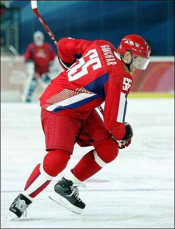 Сергей Гончар на Олимпиаде-2006 в Турине