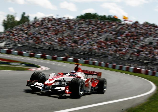 Такума Сато на Гран-при Канады