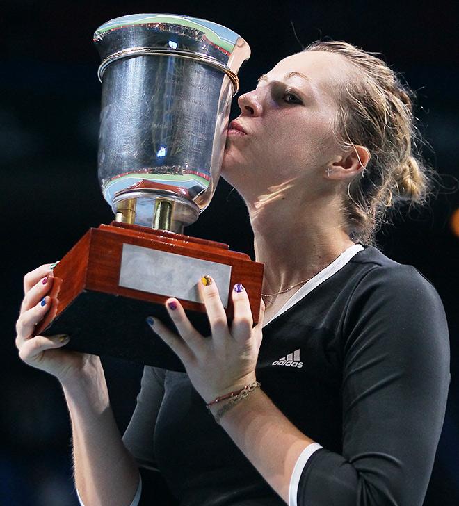 Павлюченкова впервые выиграла Кубок Кремля
