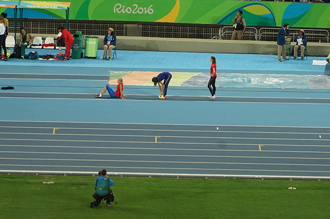 Дарья Клишина стартовала на Олимпиаде в Рио