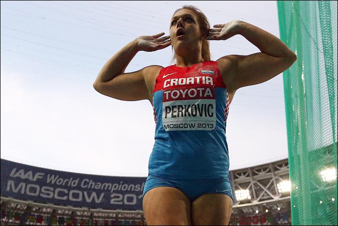 Сандра Перкович подтвердила статус фаворита в метании диска
