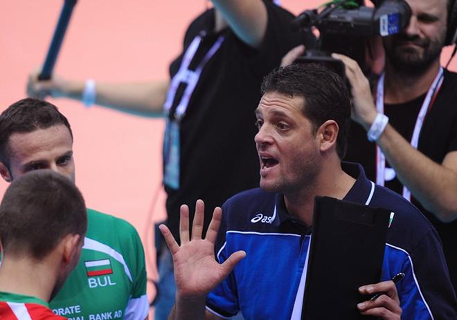 Главный тренер сборной Болгарии Пламен Константинов