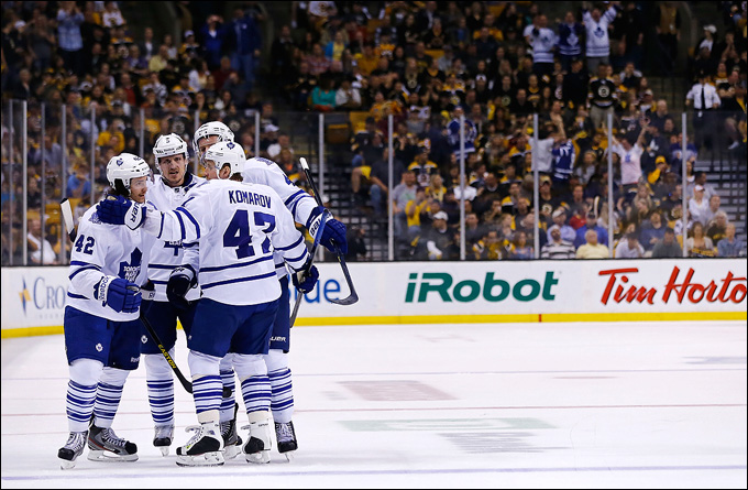 """10 мая 2013 года. Бостон. Плей-офф НХЛ. 1/8 финала. Матч № 5. """"Бостон"""" — """"Торонто"""" — 1:2. Серия отправляется в Торонто"""