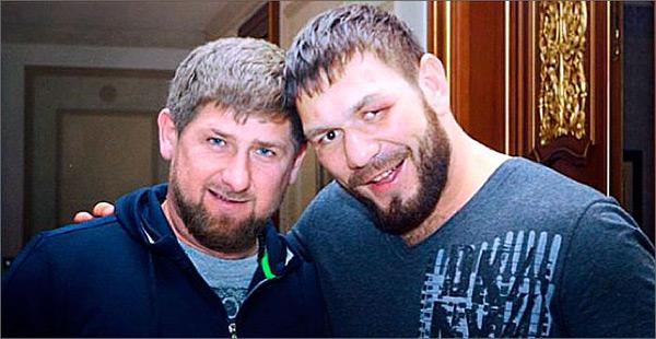 Рамзан Кадыров и Руслан Чагаев