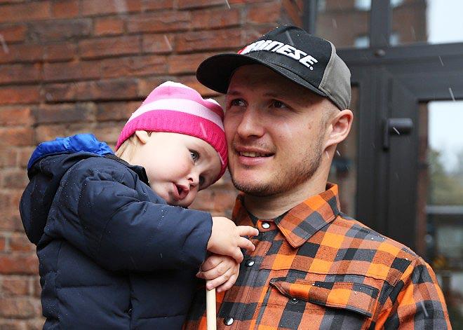 Александр Хорошилов с дочерью