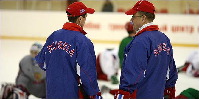 Вячеслав Быков и Игорь Захаркин.