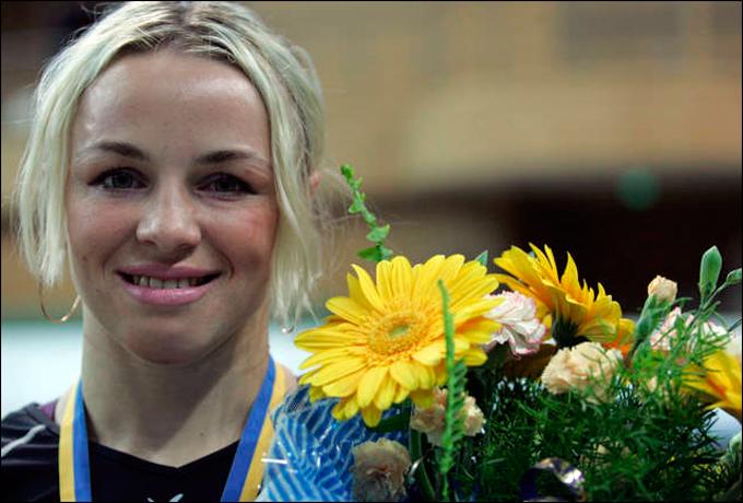 Украинская красавица и чемпионка Ирина Мерлени