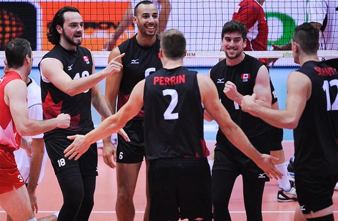Канада разгромила Египет – 3:0