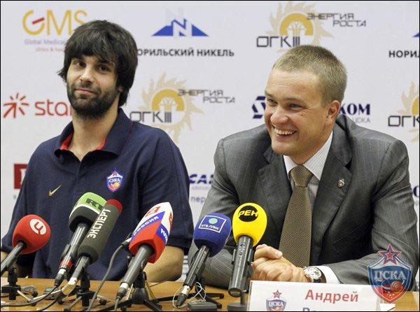 Милош Теодосич и Андрей Ватутин. Сотрудничество только начинается