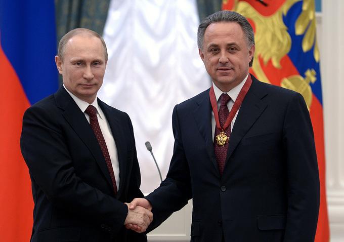 Владимир Путин и Виталий Мутко: карт-бланш дан