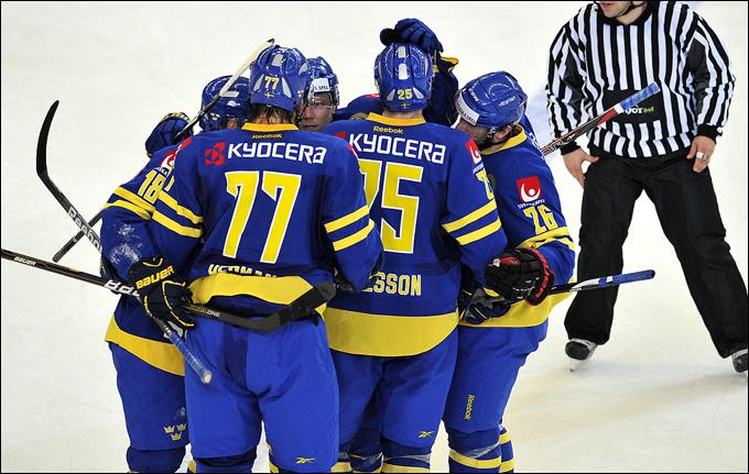 Шведы обыграли Россию в первый раз с февраля 2012 года