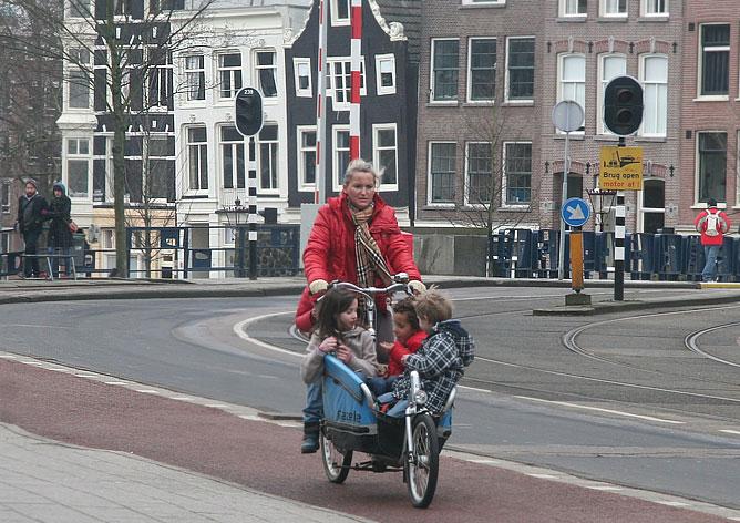 Велосипедная прогулка на пятерых