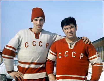 Владислав Третьяк и Виктор Коноваленко