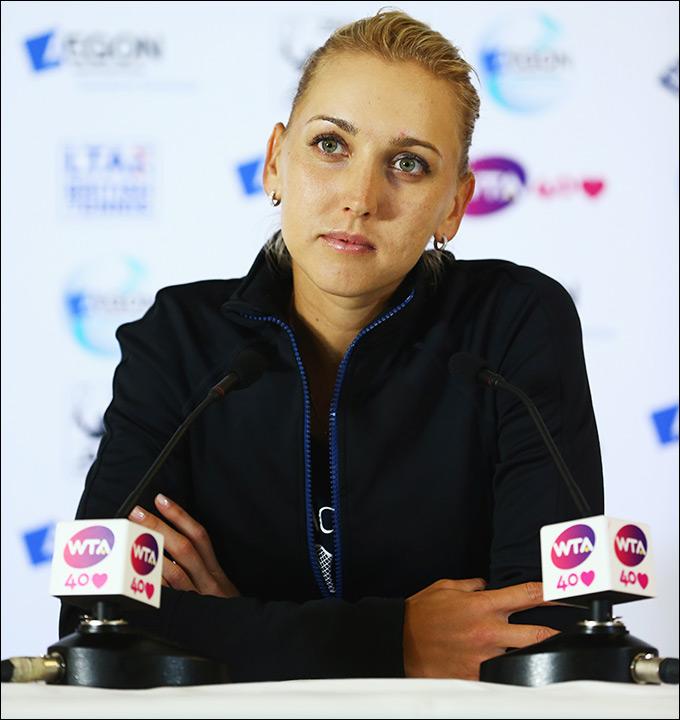 Елена Веснина не вышла из группы, несмотря на две победы