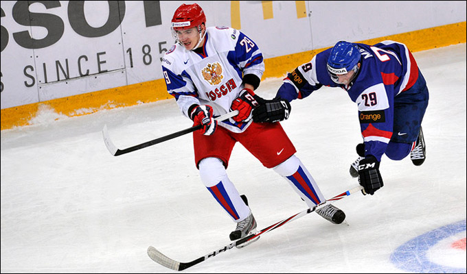 Павел Коледов против сборной Словакии