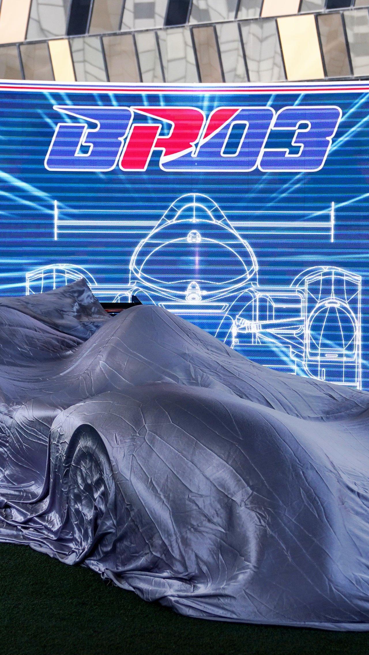 BR03 — новый российский гоночный болид