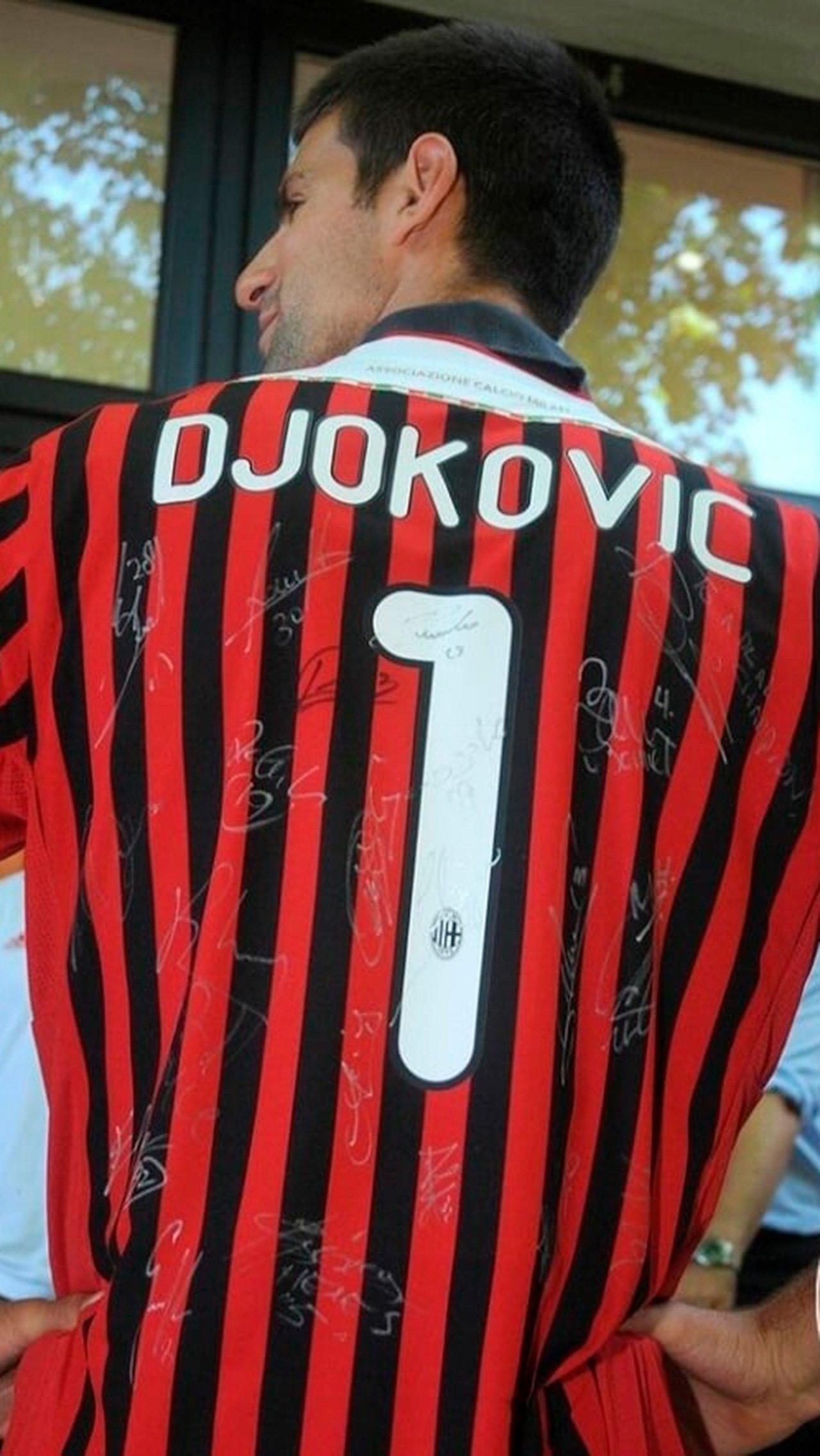 Новак Джокович<br/> «Милан»