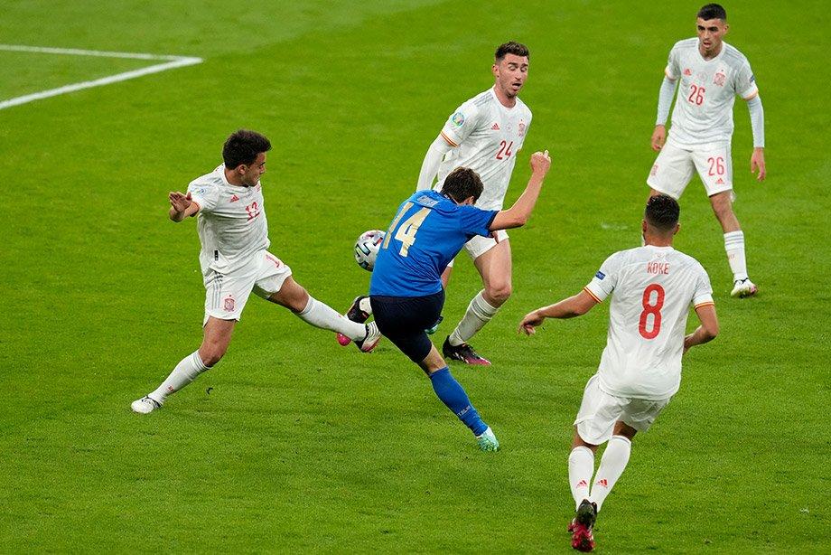 Италия — Испания — 1:1, пенальти — 4:2, 6 июля, обзор полуфинала Евро-2020 Италия — Испания