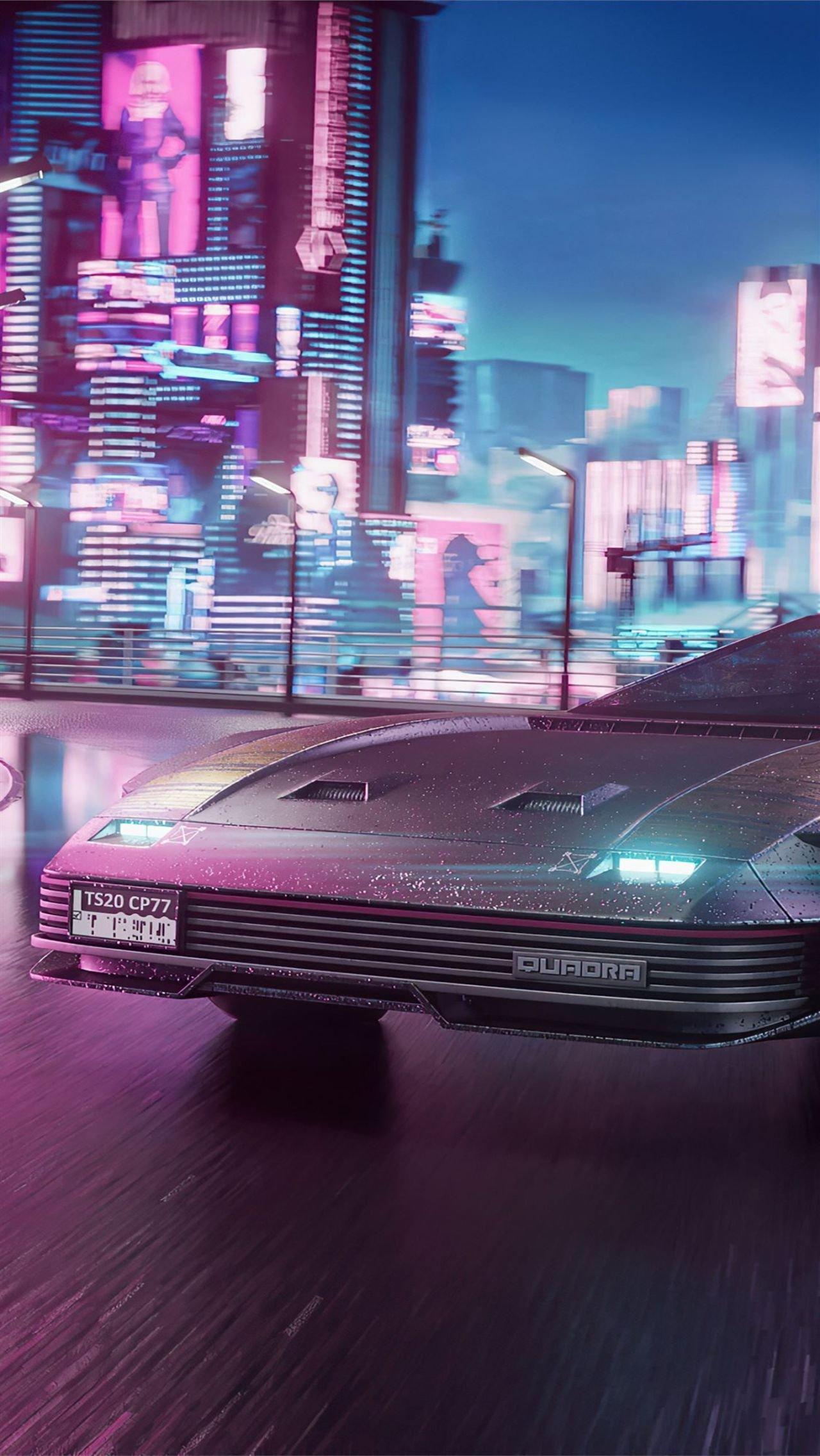 Топ-10 самых быстрых тачек в Cyberpunk 2077