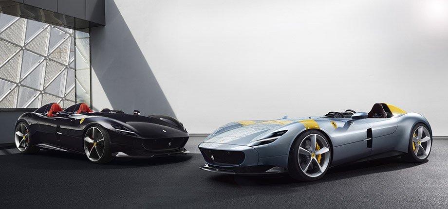Криштиану Роналду покупает спорткар Ferrari Monza SP1 – характеристики машины, фото и видео