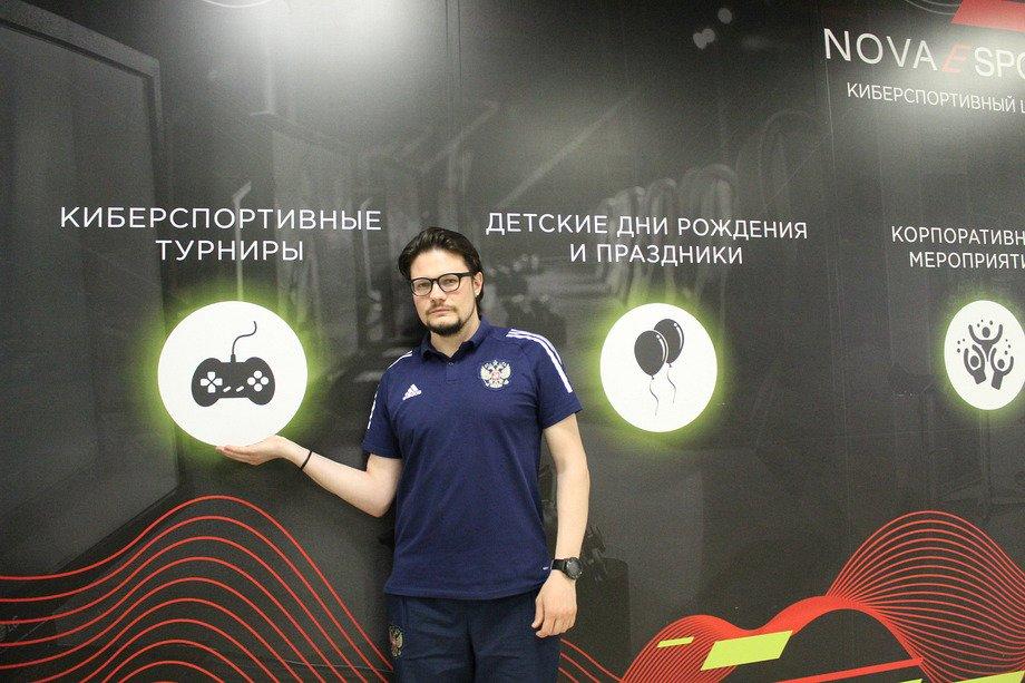 Менеджер Сборной России по FIFA — Андрей Катырин