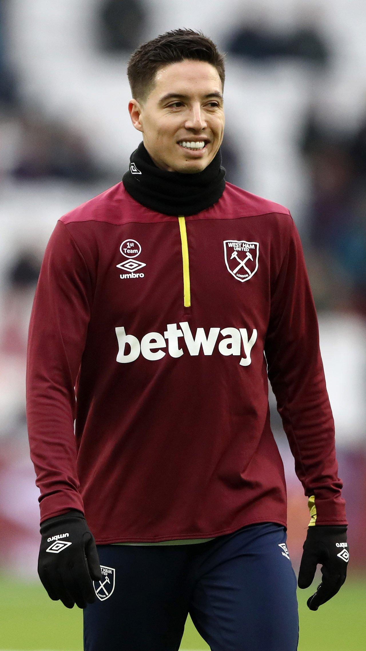 Почти год Насри был свободным агентом, зимой-2019-го его взял «Вест Хэм»
