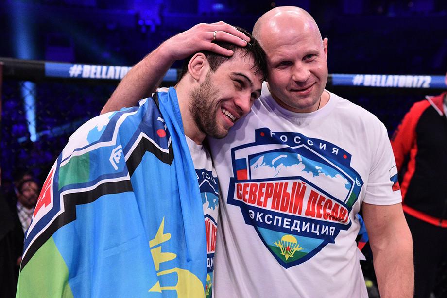 «Пока не пропущу, не заведусь». Фёдор Емельяненко готовит в Bellator нового чемпиона?