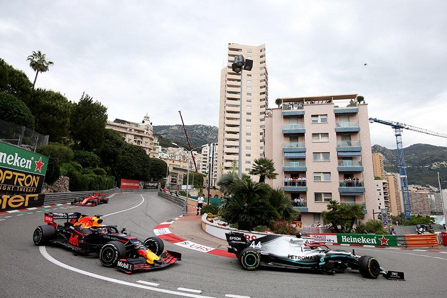 Ферстаппен и Хэмилтон на Гран-при Монако — 2019