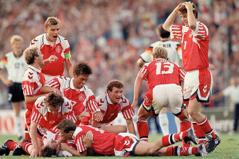 На золотом Евро сборную Дании объединила трагедия. У ведущего игрока умирала дочь