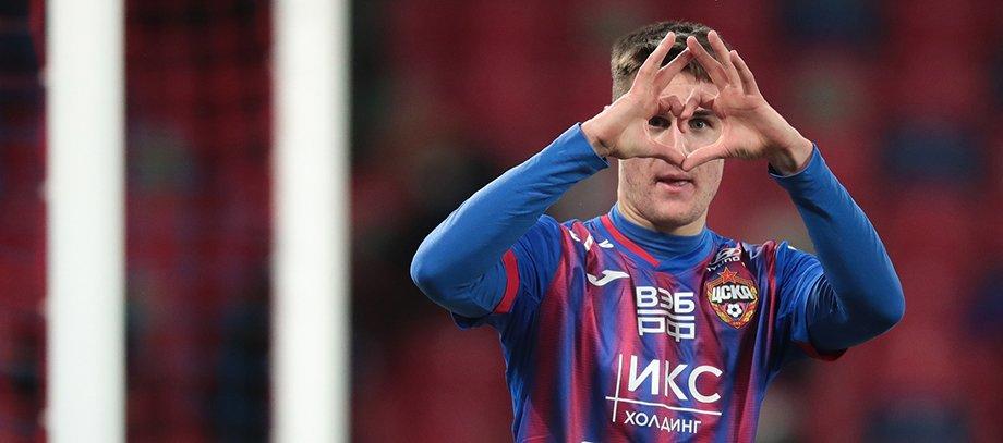 В ЦСКА Шкурина зачехлили, а теперь он забивает за чемпионов Украины и сыграет в ЛЧ