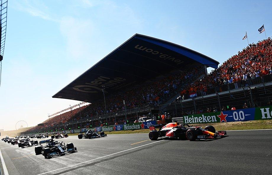 Старт Гран-при Нидерландов