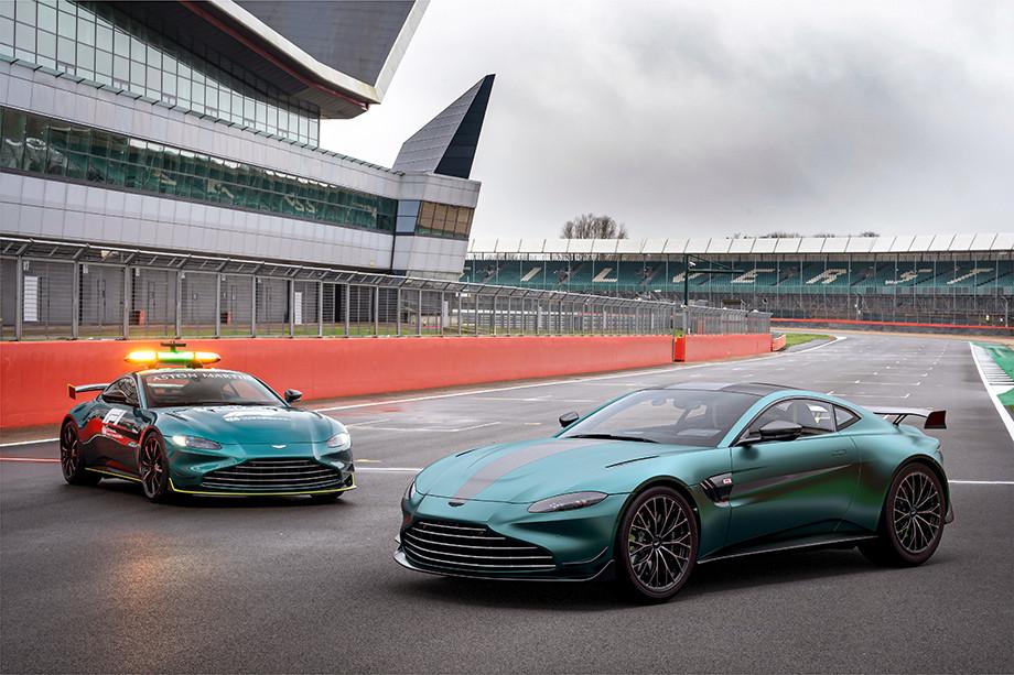 Как устроен новый сейфти-кар Формулы-1 — Aston Martin Vantage F1 Edition, фото и характеристики