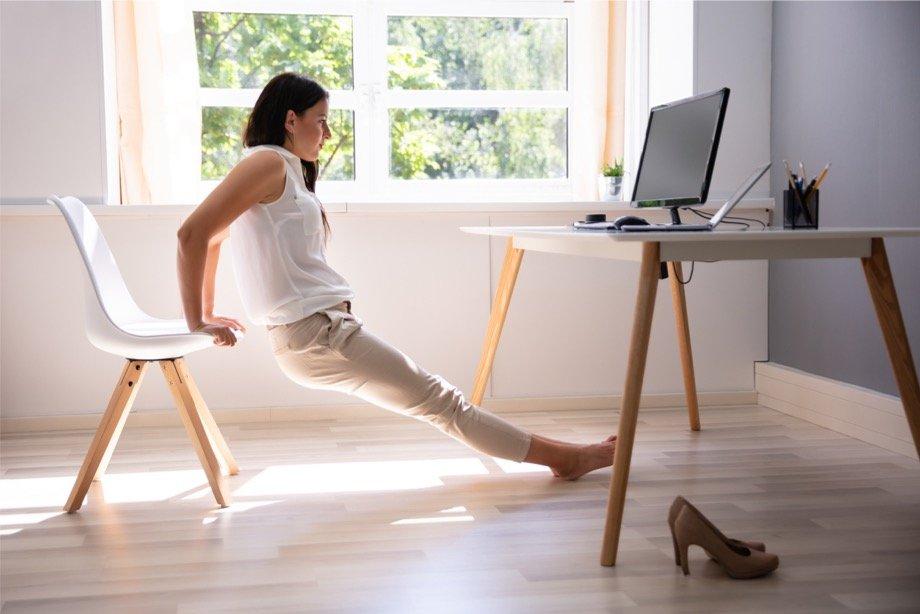 Упражнения в офисе для осанки, комплекс упражнений на рабочем месте, производственная гимнастика для офисных работников