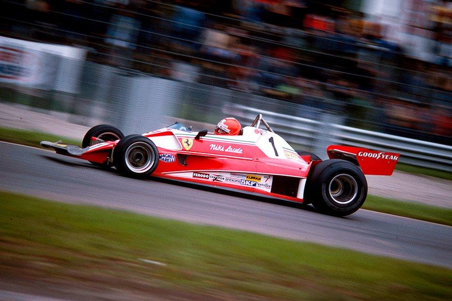 Ники Лауда на Гран-при Италии-1976