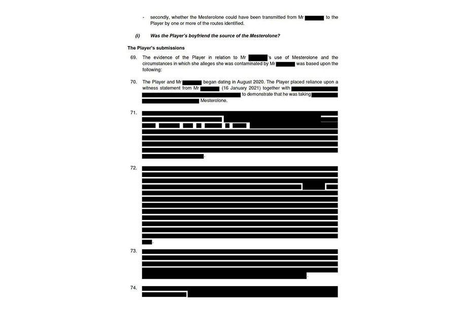 Допинг-скандал в теннисе: запрещённые вещества во время секса попали в организм украинки Даяны Ястремской, подробности