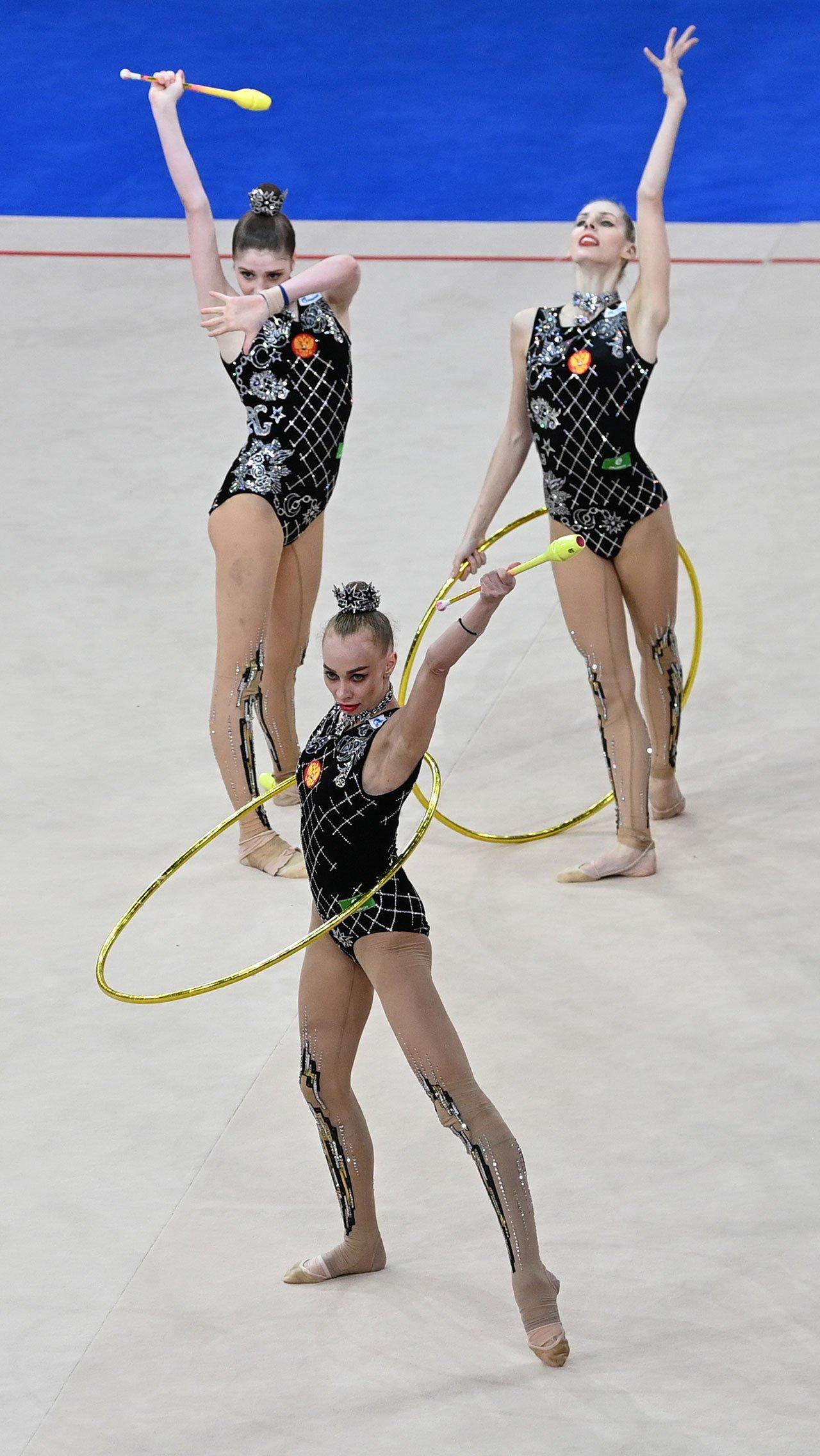 В Москве прошла квалификация международного Кубка вызова — генеральная репетиция перед Олимпиадой-2020 в Токио. Россиянкам на турнире не было равных.