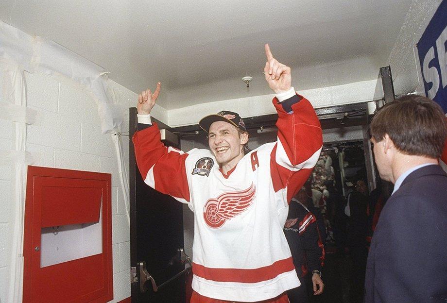 Сергей Фёдоров мог перейти в «Каролину», как Сергей Фёдоров играл за «Детройт» в Кубке Стэнли — 1997 и 1998