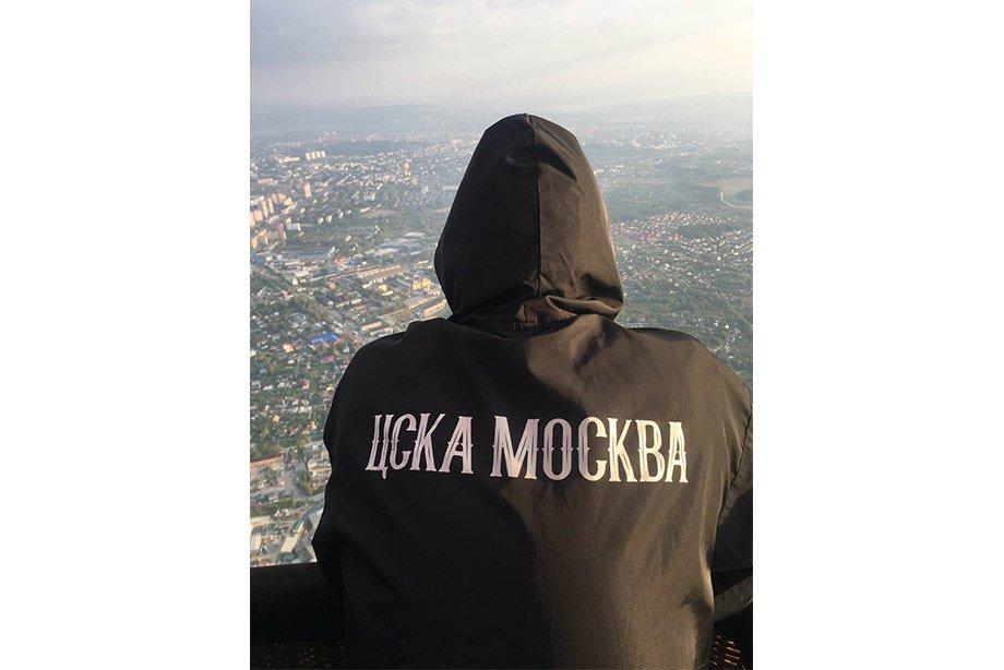 «Дорого, но эмоции бесценны». Фанаты ЦСКА полетели в Тулу на воздушном шаре!